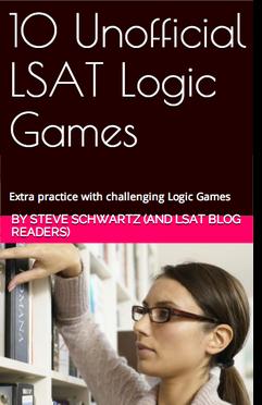 10 Unofficial LSAT Logic Games